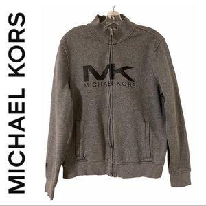 Michael Kors Grey Zip Sweater